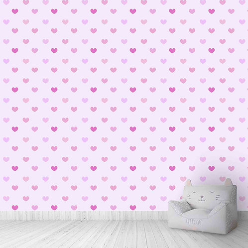 Pink Hearts Kids Wallpapers forWalls