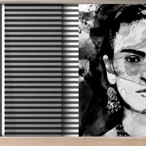 lifencolors-wallpaper-fridakahlo-portrait-abstract-blacknwhite