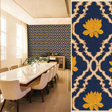 lifencolors-wallpaper-floral-lotus-damask-diningroom-bedroom-livingroom