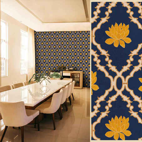 lifencolors-wallpaper-floral-lotus-damask-diningroom-bedroom-livingroom