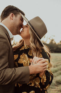 a couple during their engagement photoshoot in Louisiana