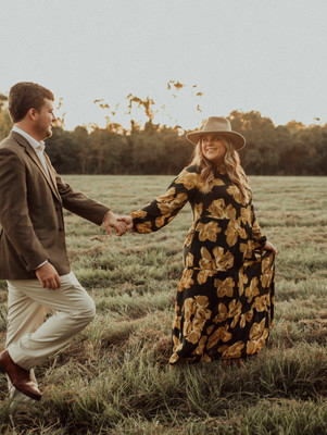 Couple Photos turned into Engagement Shoot