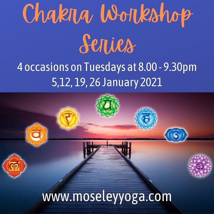 Chakra balancing workshop series