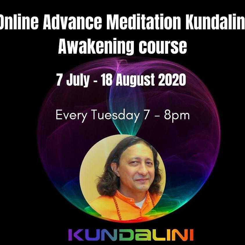 Online Advance Meditation Kundalini Awakening course