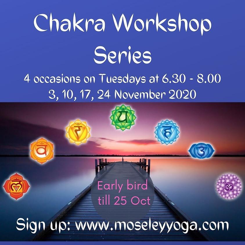 Chakra balancing workshop series 1.