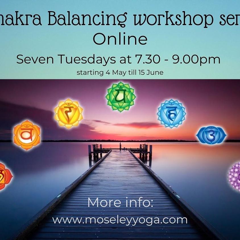 Chakra balancing workshop series Root chakra