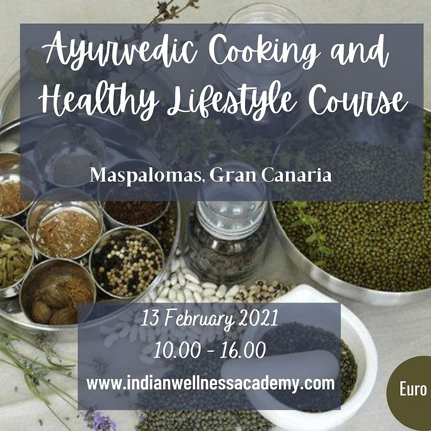 Ayurvedic Cooking and Healthy Lifestyle workshop
