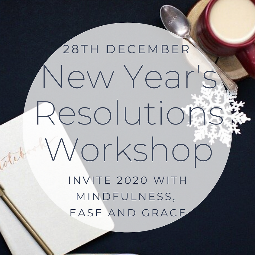 New Year's Resolutions Workshop
