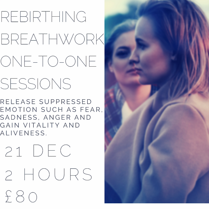 Rebirthing Breathwork One-to-One Sessions