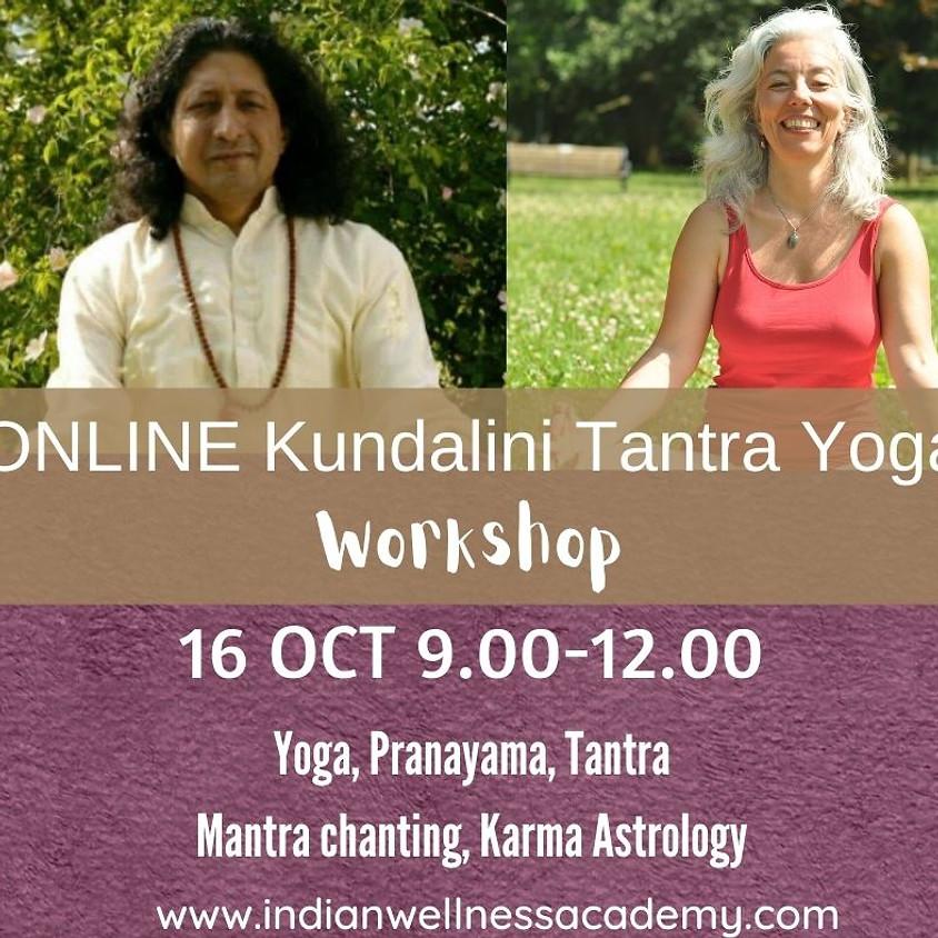 Kundalini Tantra Yoga Workshop - Online
