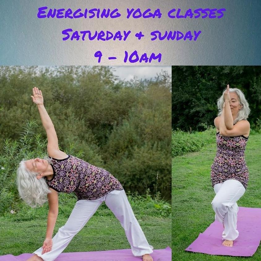 Energising Hatha Yoga class