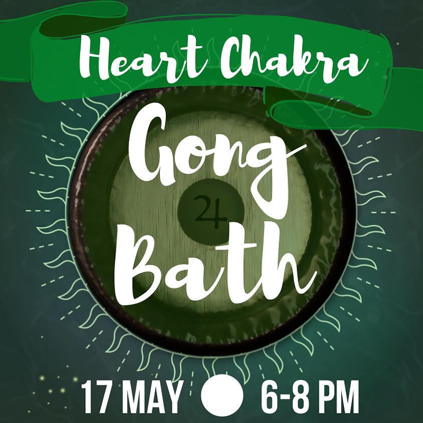 Gong Bath - Heart Chakra