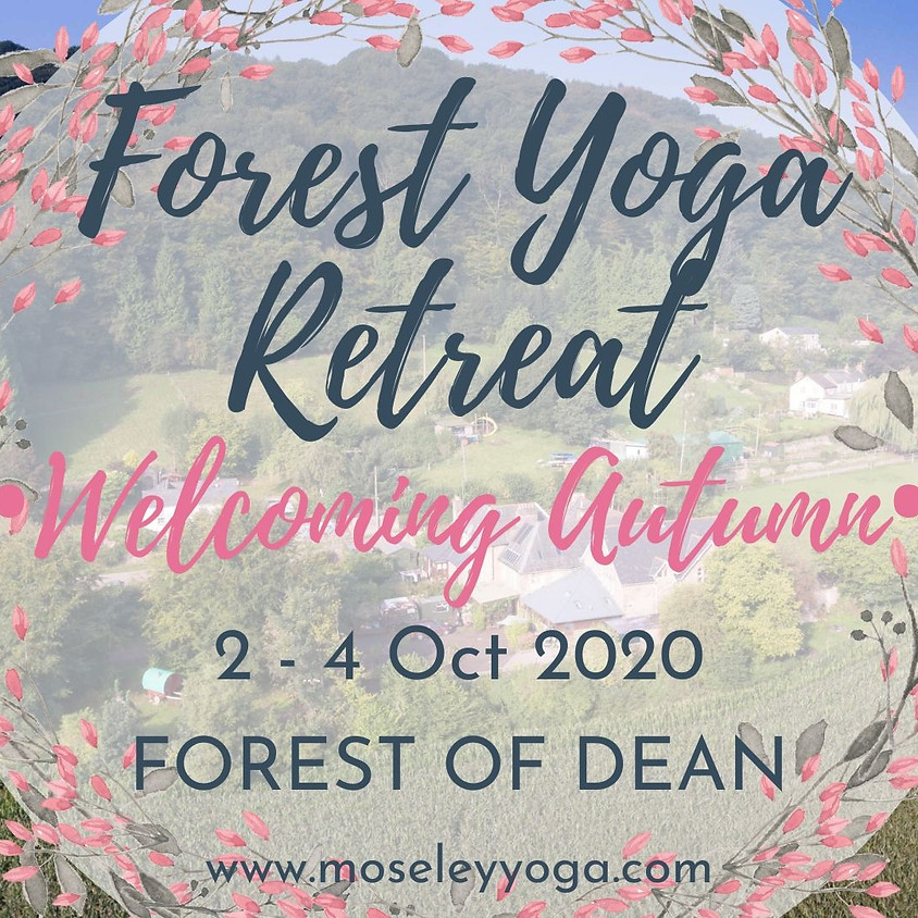 Forest Yoga Retreat - Welcoming Autumn