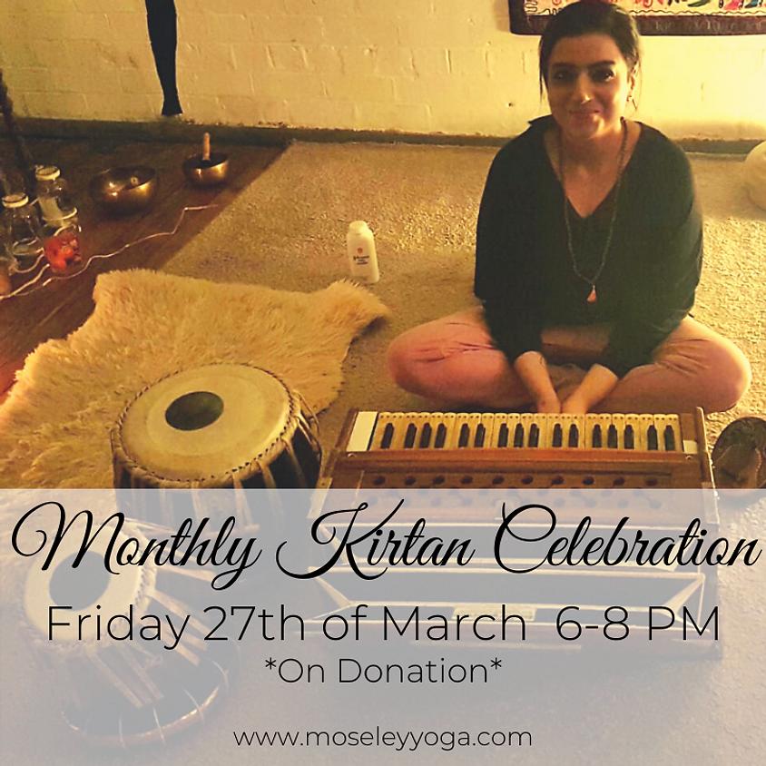Monthly Kirtan Celebration