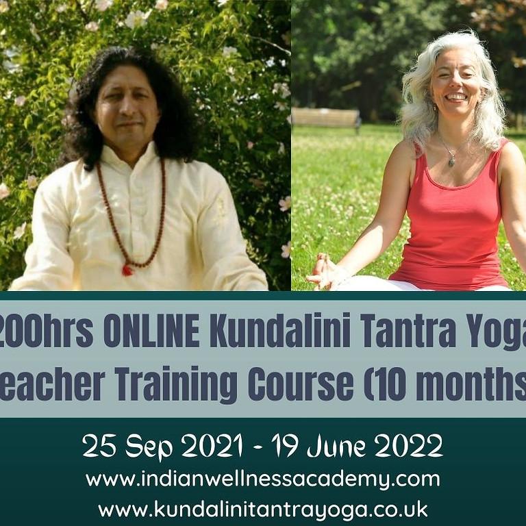 Kundalini Tantra Yoga Teacher Training Course