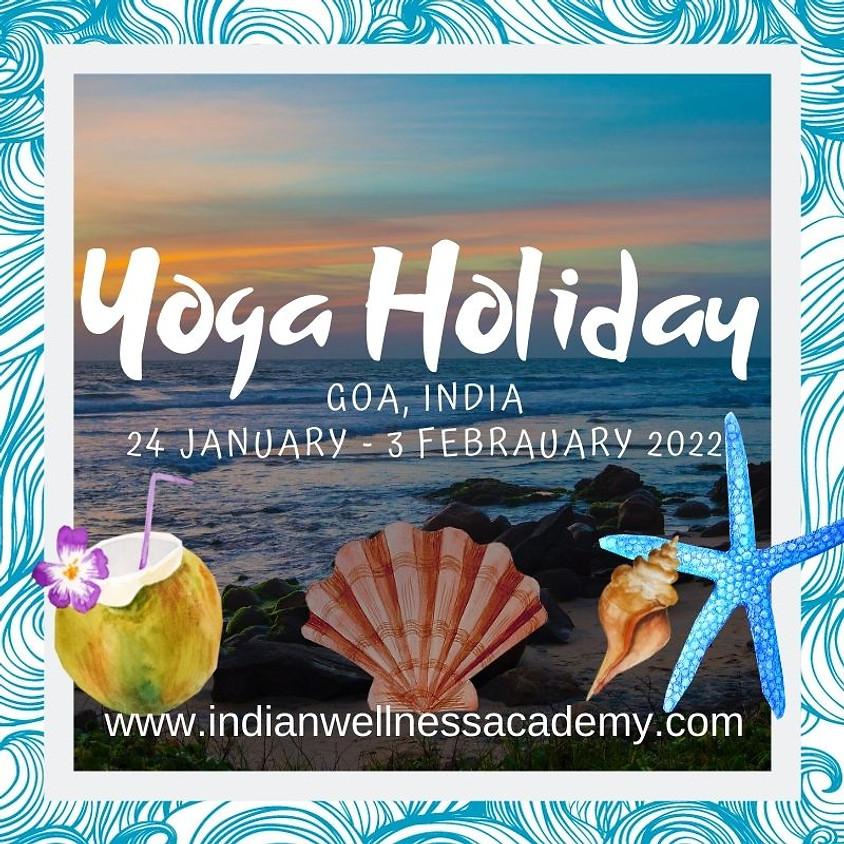 Yoga Holiday, India, Goa