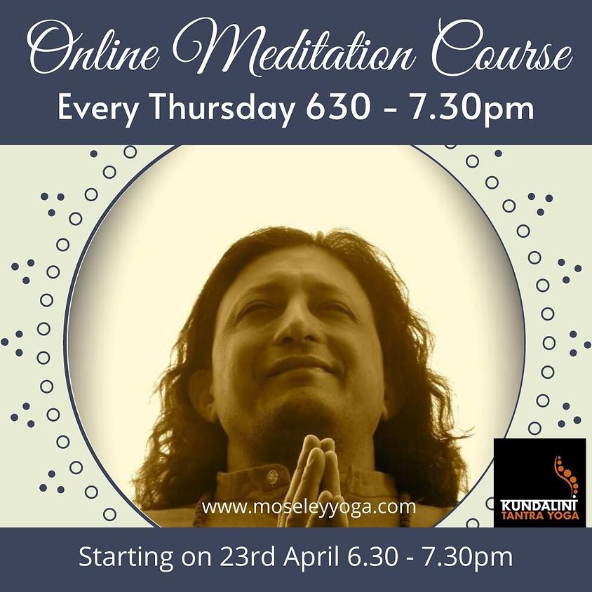 Online Meditation Course (10 weeks)