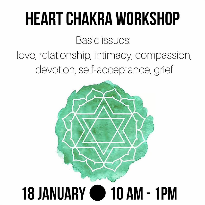 Heart Chakra Yoga Workshop