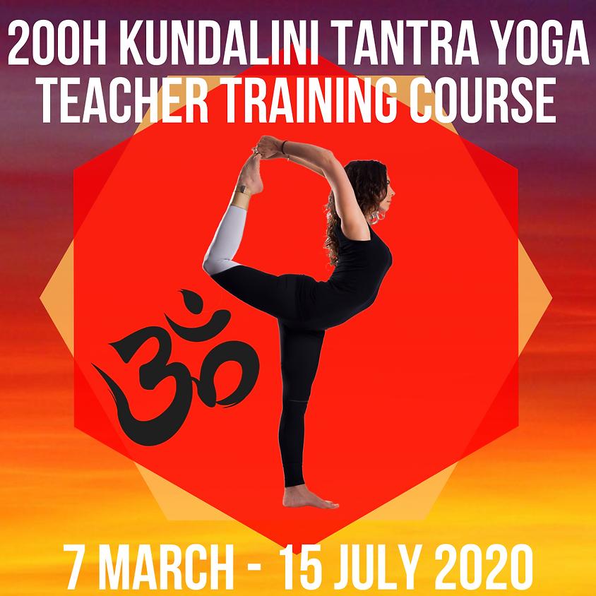 200 Hour Kundalini Tantra Yoga Teacher Training Course
