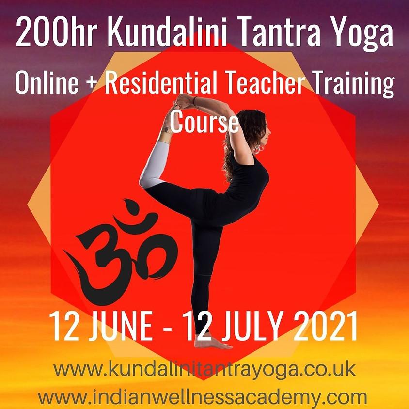 200hrs Kundalini Tantra Yoga Teacher Training