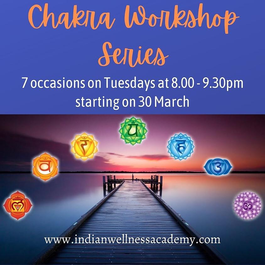 Chakra Balancing workshop series 7