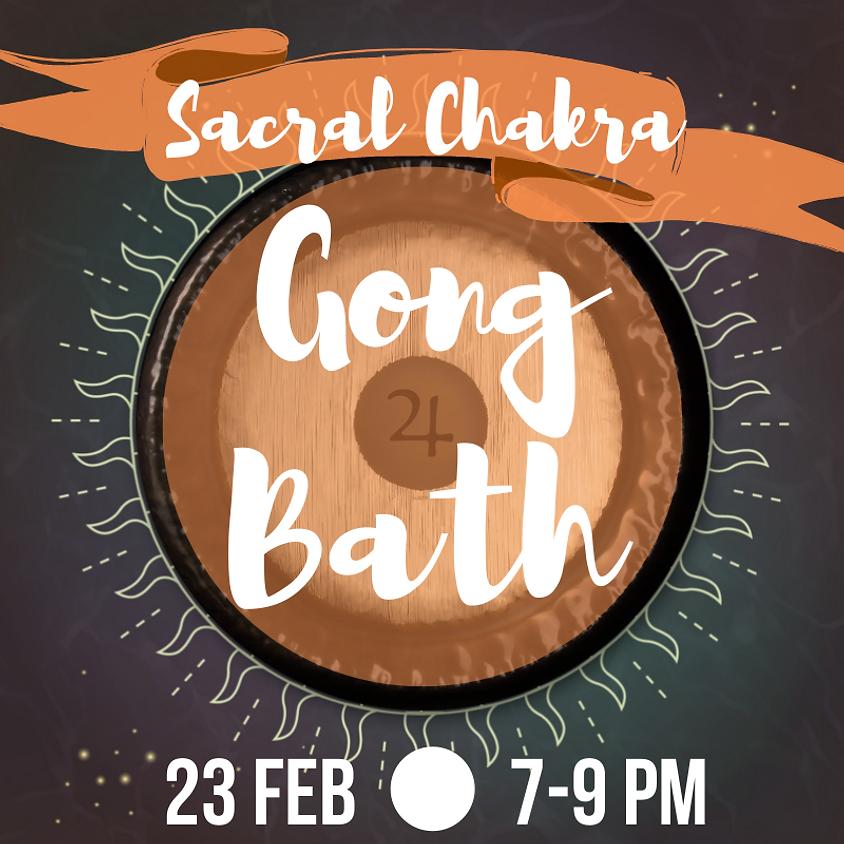 Gong Bath - Sacral Chakra