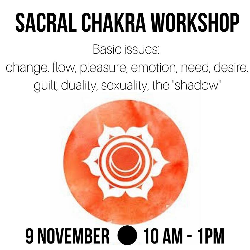 Sacral Chakra Yoga Workshop