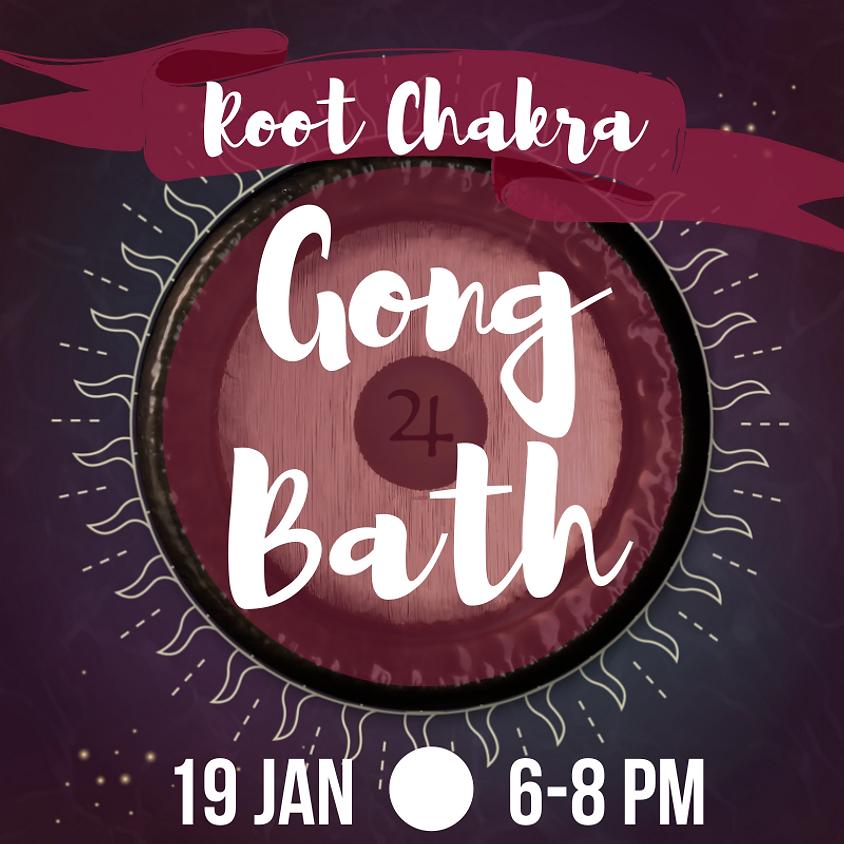 Gong Bath - Root Chakra