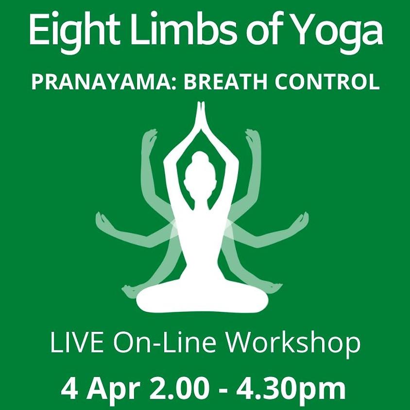 Online Eight Limbs of Yoga Series - PRANAYAMA