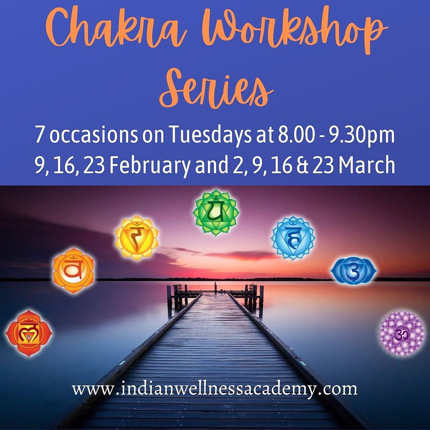 Chakra Balancing workshop series 3