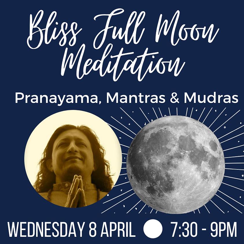 Live On-line - Bliss Full Moon Meditation
