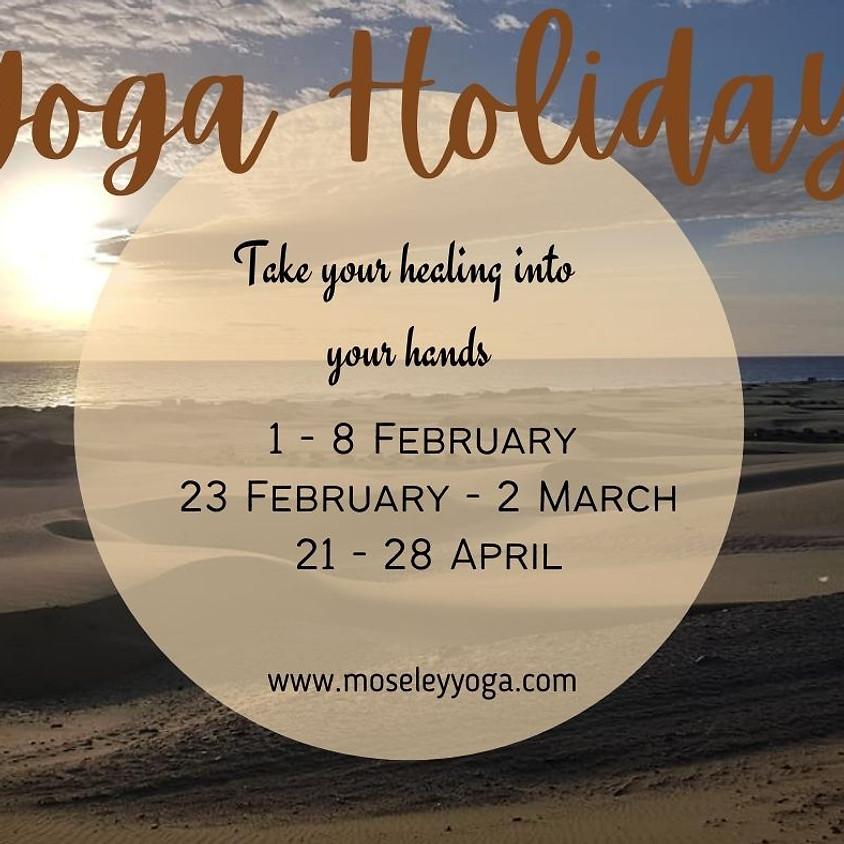 Yoga Holiday in Gran Canaria
