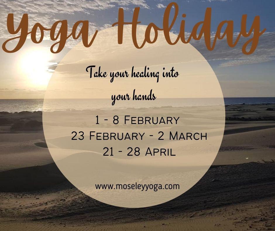 Healing Yoga Holidays in Gran Canaria 2.
