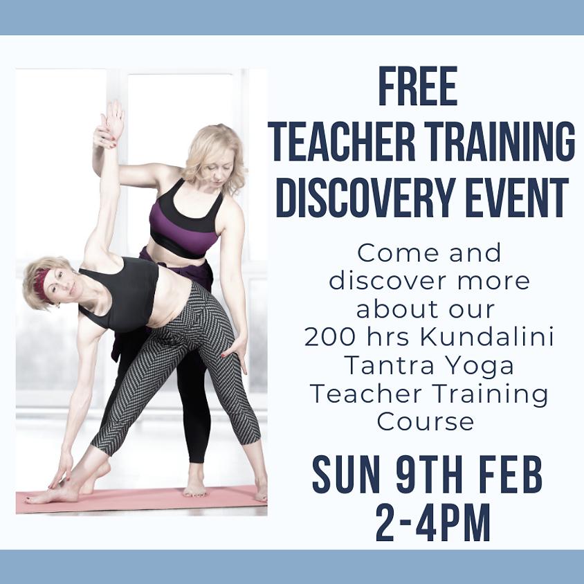FREE Teacher training Discovery Event