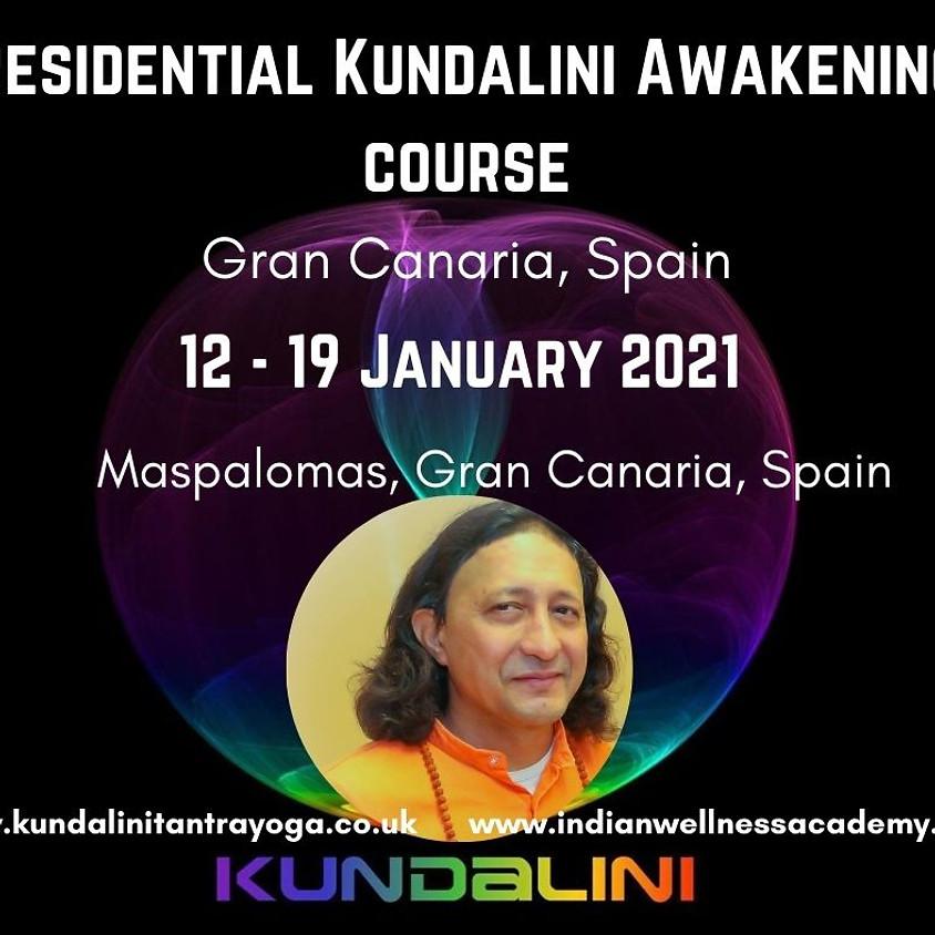 Residential Kundalini Awakening Course-Advanced training for Awakened Minds (12 - 19 January 2021)