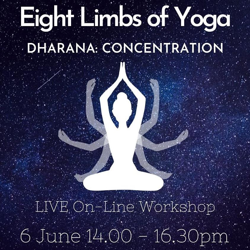 Eight Limbs of Yoga Series - DHARANA