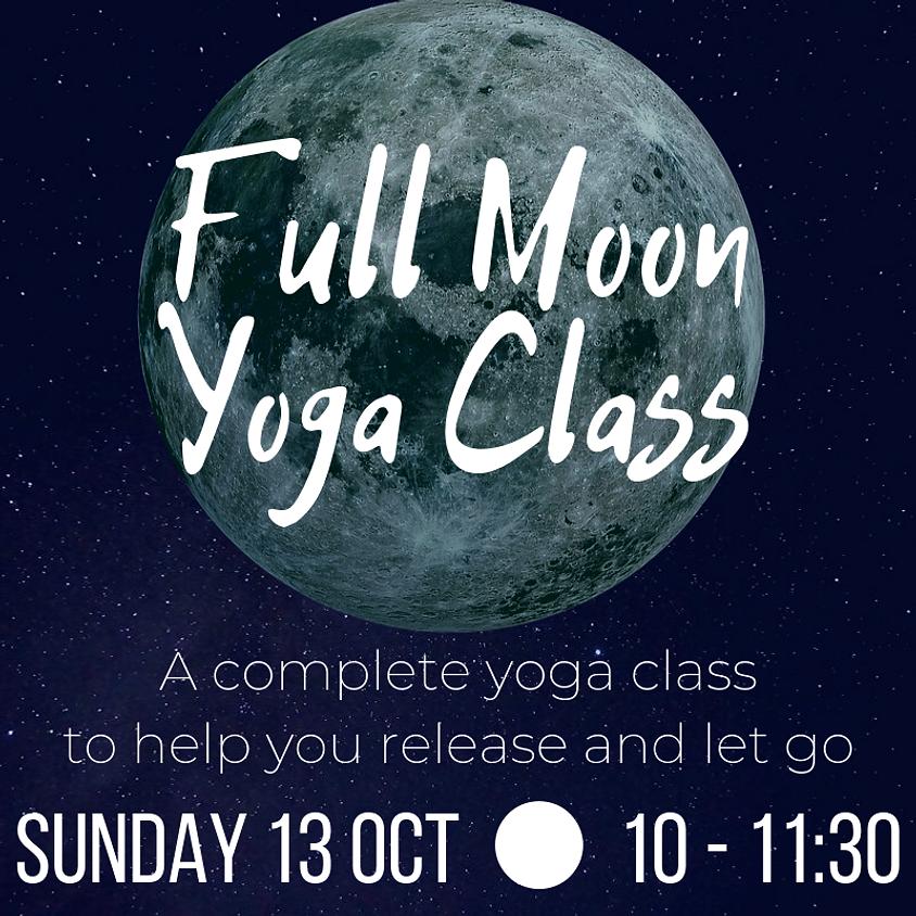 Full Moon Yoga Class
