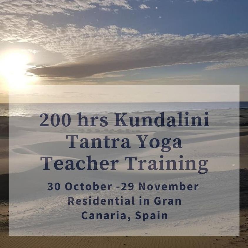 Kundalini Tantra Yoga Teacher Training, Gran Canaria
