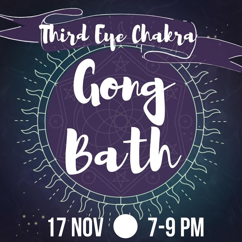 Gong Bath - Third-Eye Chakra
