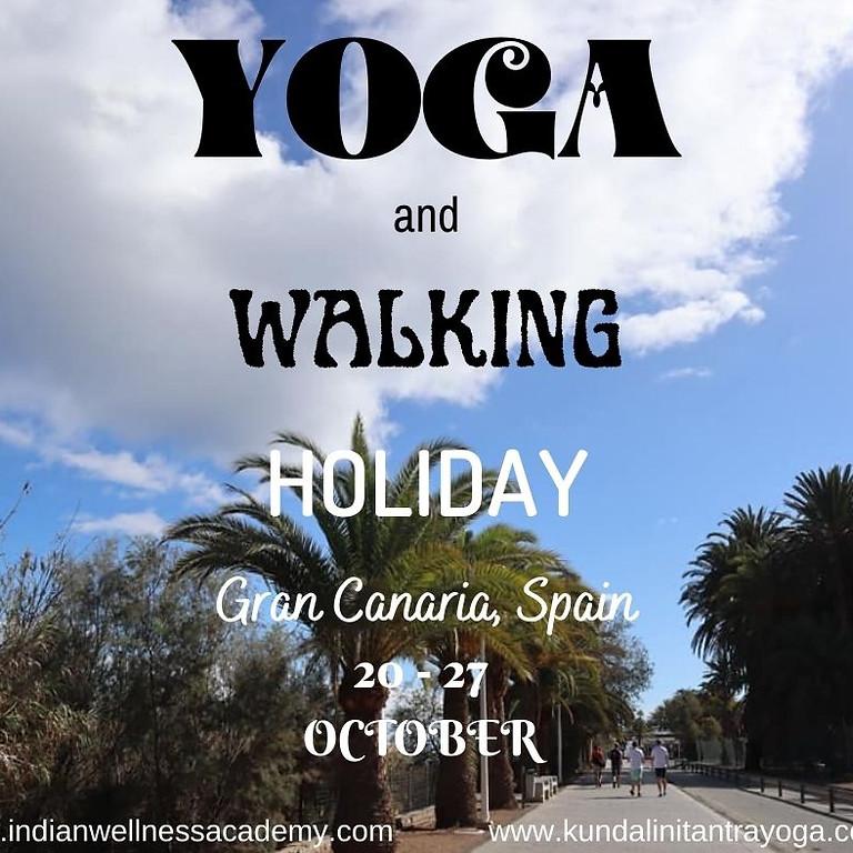 Yoga and Walking Holiday Gran Canaria