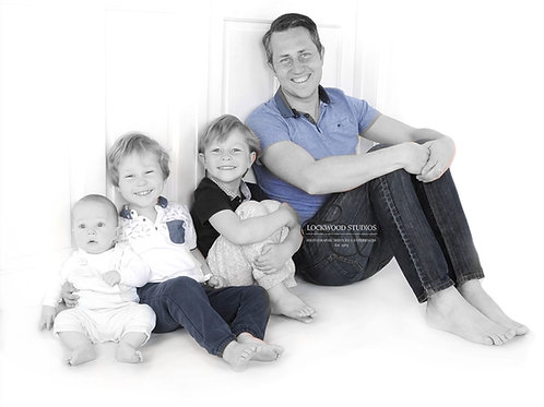 Fathers Day Portrait Experience