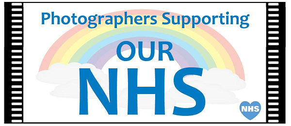 photographers supporting our nhs banner.