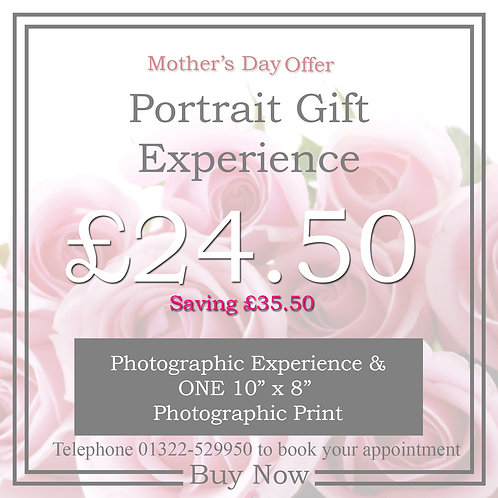 Mothers Day Portrait Experience