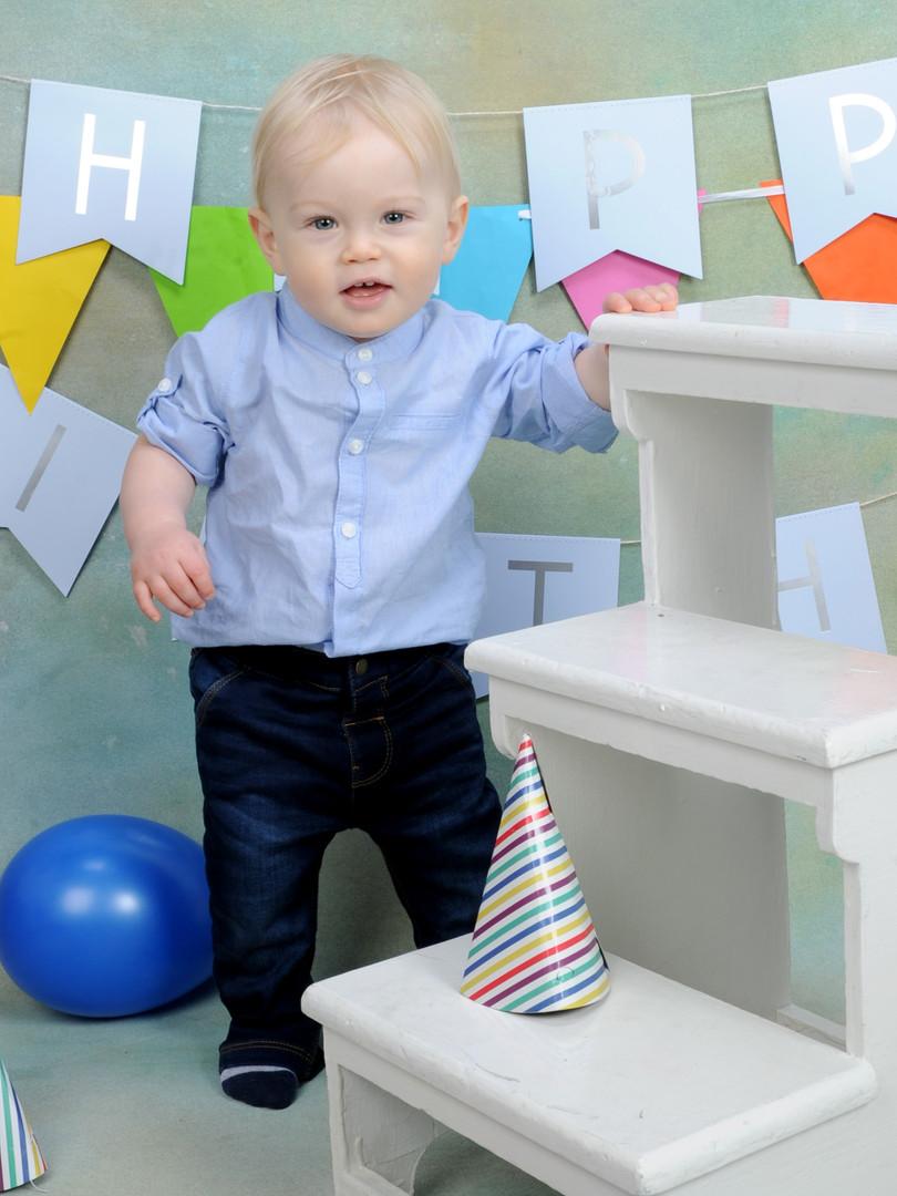 Theo 1st Birthday