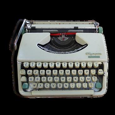 La machine à écrire de Guy Booshay