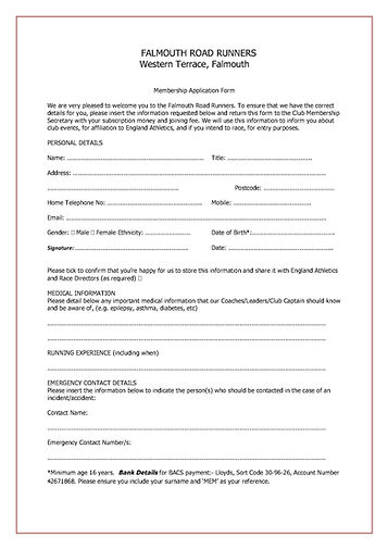 Membership Application Form 2018 - amend