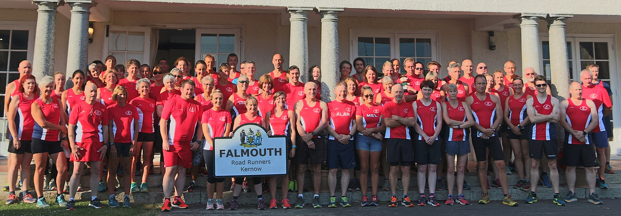 Falmouth Road Runners club 2019