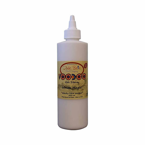VooDoo Gel Stain - White Magic (White) 8 oz (236ml)