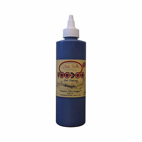 Voodoo Gel Stain - Denim (Blue) 8 oz (236ml)
