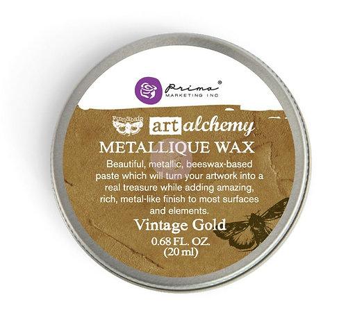 Vintage Gold - Finnabair Metallique Wax (Art Alchemy)